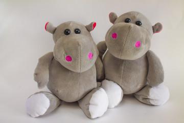 Toy hippos