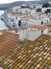 Cadaqués, pueblo bonito de la comarca del Alto Ampurdán en la provincia de Gerona, Cataluña (España)