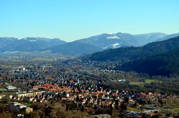 Blick auf Freiburg und das Dreisamtal