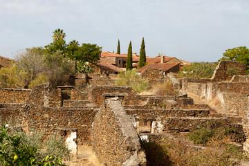 Beautiful small town rebuilt in Spain