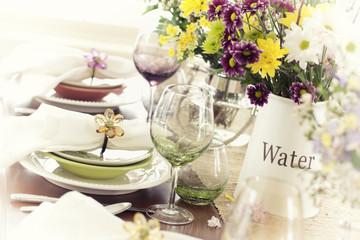 Vintage Spring Dining