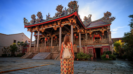 Chinese Temple in George Town