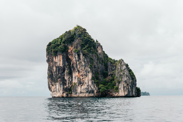 Thai rock formations