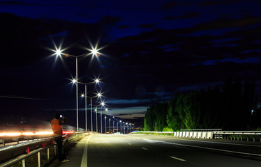 Street Lighting Armenia Fotomurales