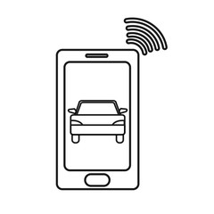 line smartphone with car transport and used wifi