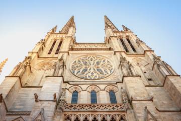 Architectural detail of the Cathedral Saint Andre de Bordeaux