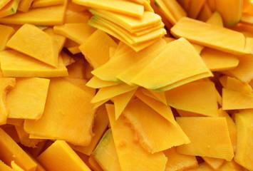 Prepared pumpkin for food ingredient image