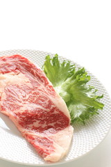 Freshness Marble beef from Japan