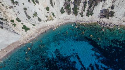 Ibiza Blue Lagoon Drone Shot