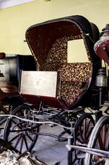 An Old Horse Carriage