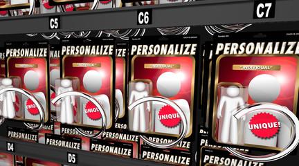 Personalize Custom Individual Action Figure Be Unique 3d Illustration