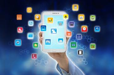 Internet Smart Phone Application icon