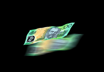 Australian currency 100 dollar note