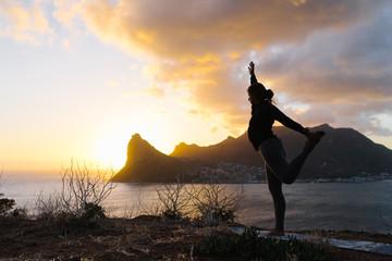 Sunset Yoga Session