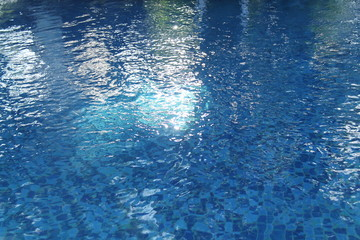 pool in the yard of the house