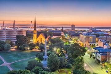Fotomurales - Charleston, South Carolina, USA Cityscape