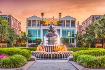 Fotomurales - Charleston, South Carolina, USA Fountain