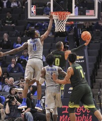 NCAA Basketball: South Florida at Memphis