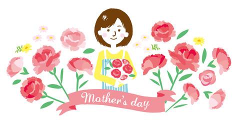 母の日 イラスト