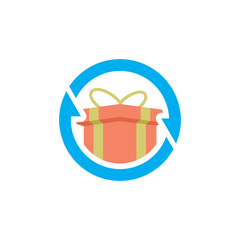 Gift Sync Logo Icon Design