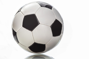 football ball on white