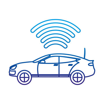 degraded line car transport with digital wifi connection