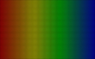 Led screen texture. diode screen seamless pattern