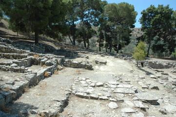 Crète, site, archéologique d'Aghia Triada