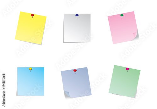 Page curl with shadow on blank sheet of paper  White paper