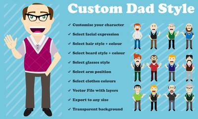Custom Dad Style