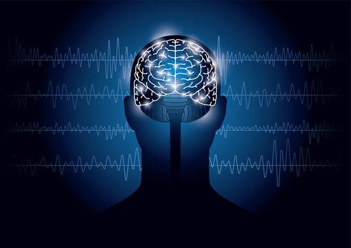 脳波のイメージ