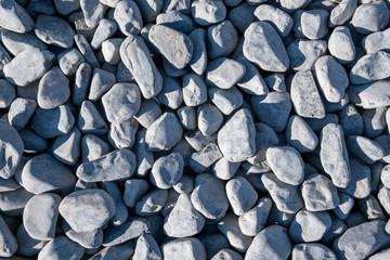 Hintergrund graue Schottersteine © Matthias Buehner