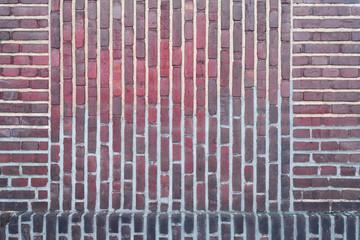 Hintergrund Wand mit alten Ziegelsteinen