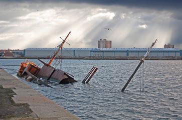 Birkenhead Sunken Ship