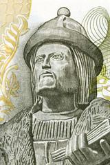 Garcia de Orta portrait from Portuguese money