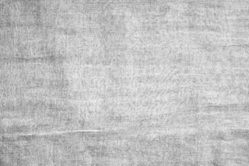 grey crumpled cloth textile texture background.