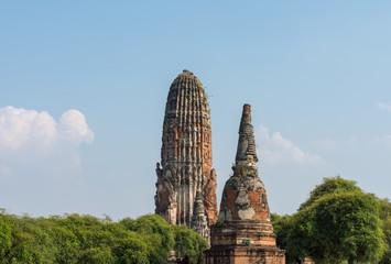 タイ・アユタヤ・遺跡・ワット・プラ・ラーム