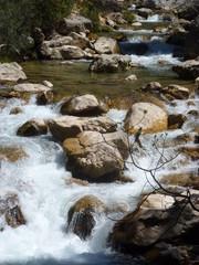 Ruta rio Borosa en Cazorla, Jaen (Andalucia,España)