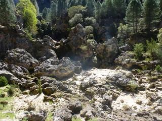 Ruta rio Borosa en Cazorla, Jaen (Andalucia, España),