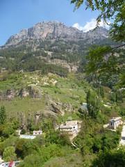 Cazorla, pueblo de la provincia de Jaén, en la comunidad autónoma de Andalucía, España. Se encuentra localizado en la comarca de la Sierra de Cazorla