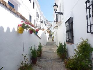 Frigiliana, pueblo de la provincia de Málaga, en la comunidad autónoma de Andalucía, España