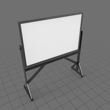Freestanding whiteboard