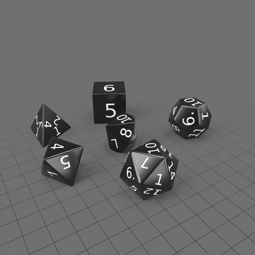 Role-playing game dice