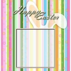 Easter frame. Happy Easter!