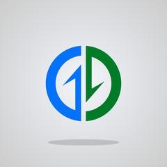 Business Finance logo, vector illustrations.