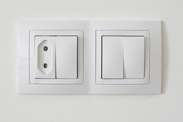Light switch socket