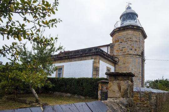Faro de Tazones, Asturias