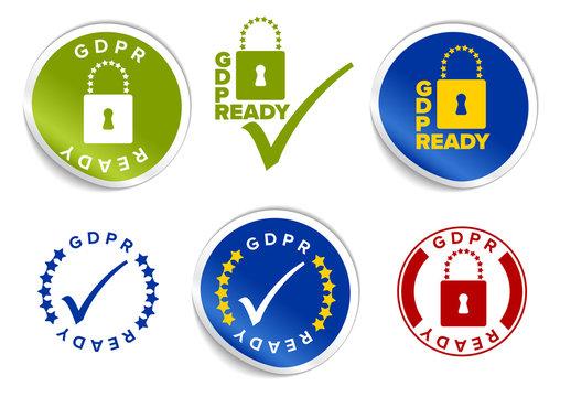 GDPR Badge Layouts