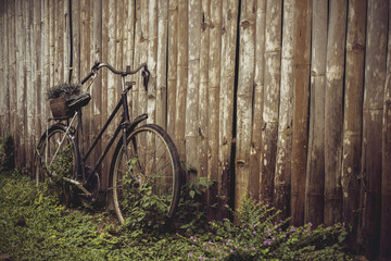 Foto op Canvas Fiets vintage bicycle