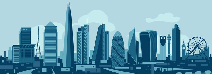Wall Mural - London City Skyline